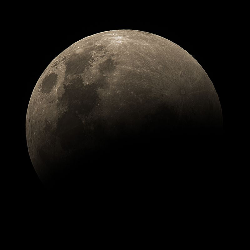Lunar Eclipse Partial 259